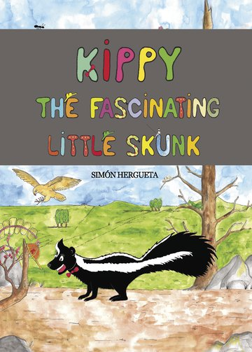 Kippy, the fascinating little skunk
